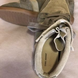 Shoes - Isabel Marant Wedge Sneakers